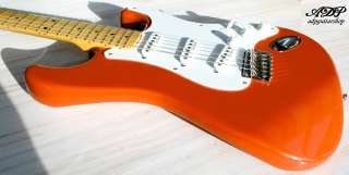 ADP CUSTOM GUITAR body Neck STRATOCASTER ® Lic. Fender + KINMAN HANK