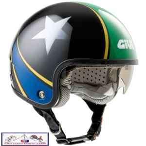 CASCO JET GIVI X05 F VISIERINA STAR JAMAICA TG L