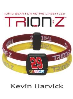 Trion:Z Magnetic Ion Bracelet Kevin Harvick #29 MEDIUM
