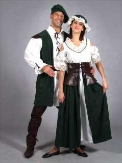 FANCY DRESS COSTUME * MEDIEVAL PEASANT FARMERS WIFE LG