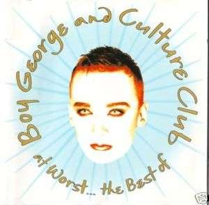 BOY GEORGE and CULTURE CLUB At worst…The best of (CD)