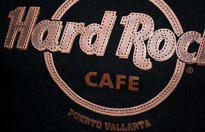 HARD ROCK CAFE T SHIRT PUERTO VALLARTA BLACK Sz M