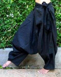 Pantalon * Sarouel * Aladin * Harem Pants *Afghan*noir