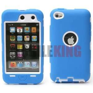 (MOBILE KING) Dual Ultra Rugged Protector Case Blue