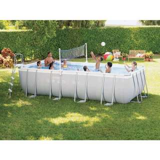 Intex 18 x 9 x 52 Rectangular Ultra Frame Pool Set   FAO Schwarz®