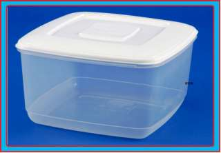 10L SQUARE PLASTIC FOOD STORAGE CAKE BOX CONTAINER 450