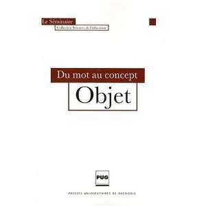 Du mot au concept (French Edition) (9782706115165