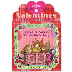 Animal Village Valentine Cards Toys & Games