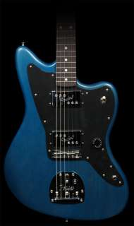 Fender Artist Lee Ranaldo Jazzmaster Electric Guitar Sapphire Blue