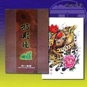 TRADITIONAL TATTOO FORTUNE SKETCH FLASH DESIGN ART BOOK