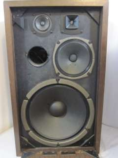 Vintage Kenwood KL 440 wood cab floor speakers