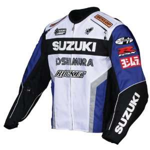 JOE ROCKET SUZUKI SUPERSPORT TEXTILE JACKET BLUE/WHITE XS