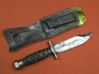 US Vietnam Era ONTARIO 1973 Jet Pilot Survival Fighting Knife