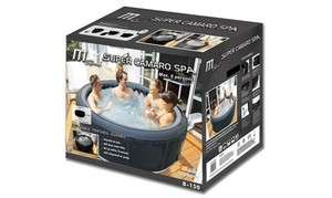 MSPA PORTABLE INFLATABLE 6 PERSON MOBILE POOL SPA  NEW