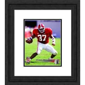 Framed Shaun Alexander Alabama Crimson Tide Photograph
