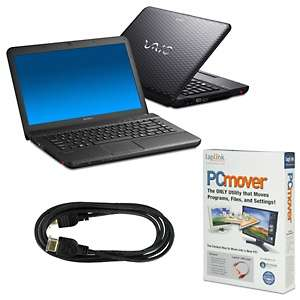 Sony VAIO 14 Intel Core i3 Laptop with HDMI Cable, 100 Songs and