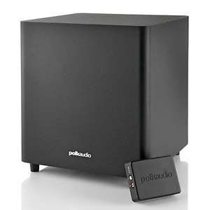 Polk Audio 70 Watt Wireless Powered Subwoofer at HSN