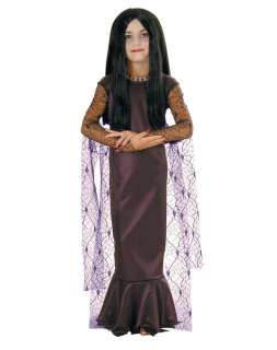 The Addams Family Morticia Child Costume