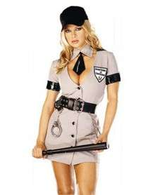 Sexy Corrections Officer Adult Womens Costume