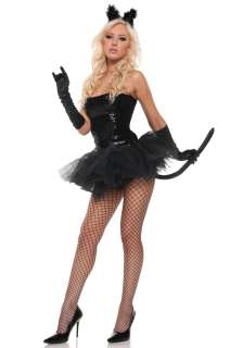 Sexy Sequin Kitty Costume   Sexy Black Cat Halloween Costume