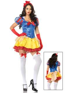 Classic Sexy Snow White Costume  Womens Sexy Storybook Costumes