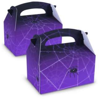 Creepy Spider Empty Favor Boxes, 67619
