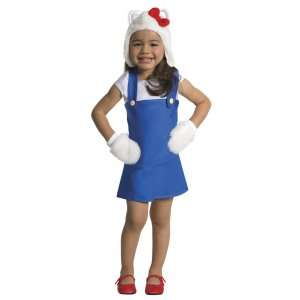 Hello Kitty   Hello Kitty Blue Romper Toddler Costume, 801424