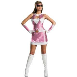 Mighty Morphin Power Rangers   Pink Ranger Sassy Deluxe Adult Costume