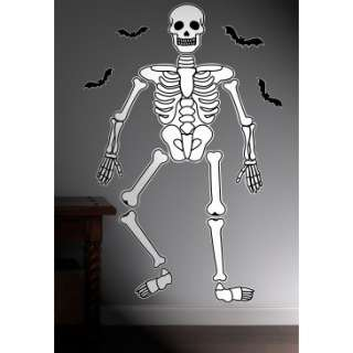 Halloween Skeleton Giant Wall Decals, 77323