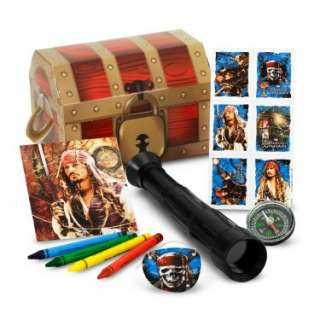 Halloween Costumes Disney Pirates of the Caribbean 4 Party Favor Kit