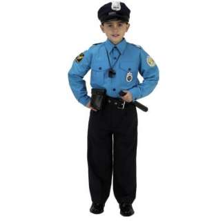 Halloween Costumes Jr. Police Officer Suit Child Costume