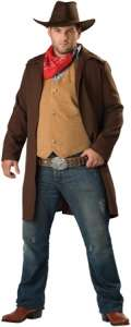 Rawhide Renegade Plus Size Costume   Family Friendly Costumes