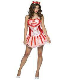 Valentine Sweetheart Costume for Adults  Valentines Day Womens
