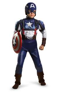 Marvel Captain America Movie Classic Muscle Toddler/Child Costume for