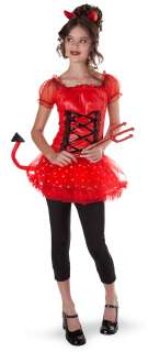Lil Devil (Light Up) Teen Costume   Includes: Dress, headband and