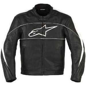 Alpinestars ATL Mens Leather Street Bike Racing Motorcycle Jacket
