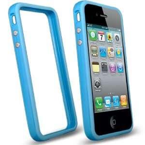 com Mobile Palace   sky blue bumper design hard case cover for apple