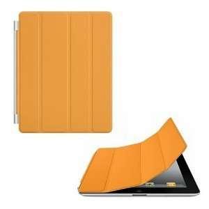 Magnetic Smart Cover Case Orange for Apple The New iPad 2 iPad2 Ipad