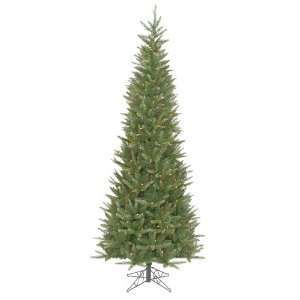 Fir Slim Artificial Christmas Tree   Multi Lights