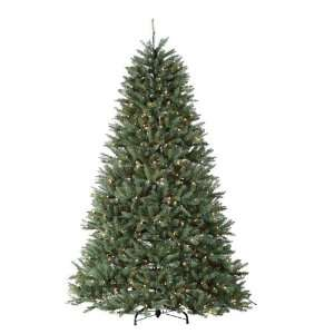 Dexter Pine Artificial Christmas Tree   Clear Lights