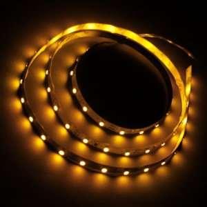 Yellow 1M 60 LED 3528 SMD Flexible Car DIY Strip Light Automotive