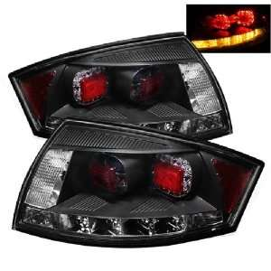 Audi TT 00 06 LED Tail Lights   Black (Sold in Pairs) Automotive