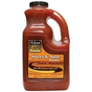 Roland Fusion Sweet & Sour Sauce, 1 Gallon Plastic Jug