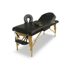 Massage Professional Series Portable Massage Table Black Sports