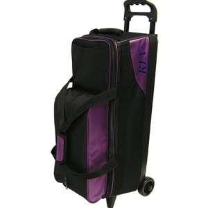 Rev Triple Roller Bowling Bag  Purple
