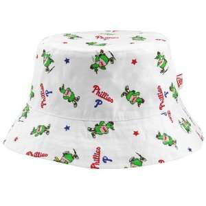 Philadelphia Phillies Infant White Baby Bucket Hat