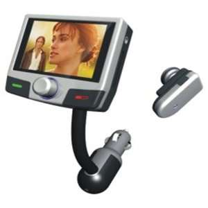 ZTO Bluetooth Hands Free Car Kit With /MP4 Function