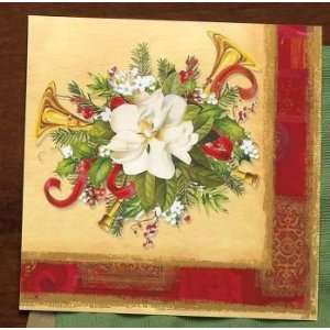 Holiday Tradition 3 Ply Christmas Lunch Napkins 16 Per