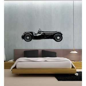 Wall Vinyl Sticker Decal Mural Classic Old Car Hot Rod Muscle T08