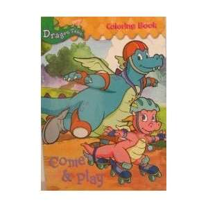 Dragon Tales Come & Play Coloring Book ~96 pages Books